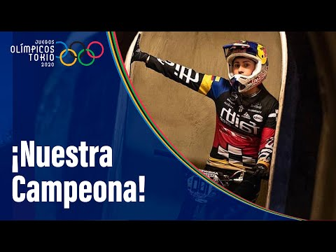 Mariana Pajón, plata en BMX y tercera medalla olímpica