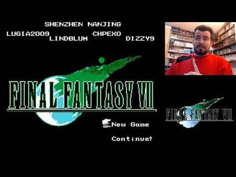 FINAL FANTASY 7 China Version (NES) - La versión 8 bits de FFVII || Gameplay en Español