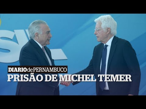Prisão de Michel Temer