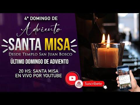 20HS: MISA | 4º Domingo de Adviento 2020 Último Domingo | Templo San Juan Bosco Tucumán