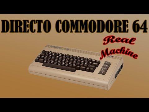 Directo commodore 64 #2 especial juegos Antonio Jurado