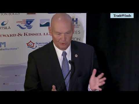 Buzby discusses Jones Act waivers