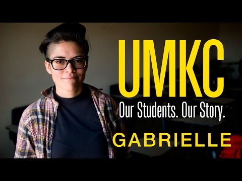 Our Students. Our Story. #UMKCGoingPlaces Gabrielle