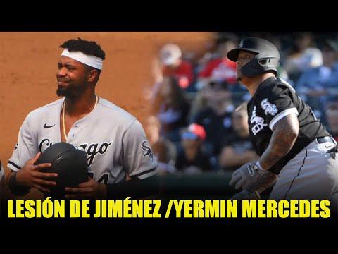 Lesión de Eloy Jiménez deja una brecha a Yermín Mercedes