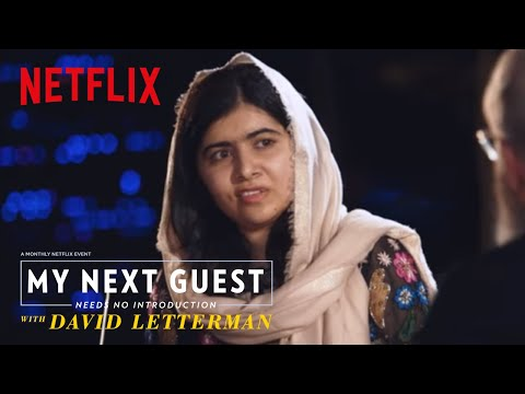 connectYoutube - David and Malala Yousafzai Sound Off on Trump | My Next Guest Needs No Introduction | Netflix