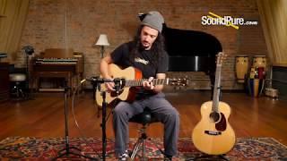 Bourgeois Italian Spruce/Padauk JOMC-T Custom Acoustic #8059 Quick 'n' Dirty