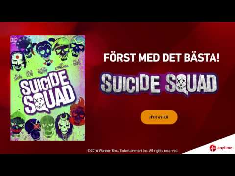 SUICIDE SQUAD - nu hos SF Anytime