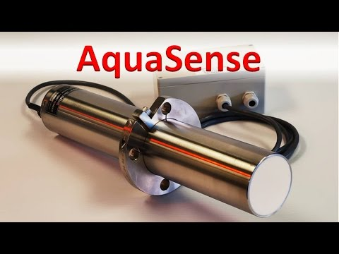 AquaSense moisture sensor for sand and granular products