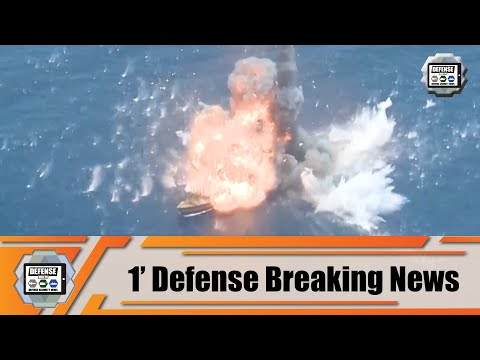 Iranian Navy test fires new generation Naval anti-ship cruise missile Iran 1' defense breaking news