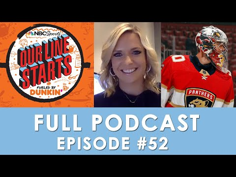 Vegas set for deep run; Spencer Knight's strong start; Ryan Miller retires | Our Line Starts Ep. 52