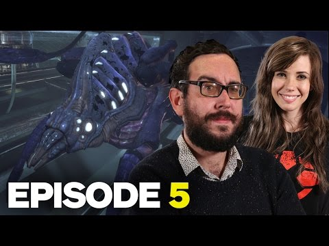 Marty Plays Mass Effect: Episode 5 - Benezia and the Rachni Queen
