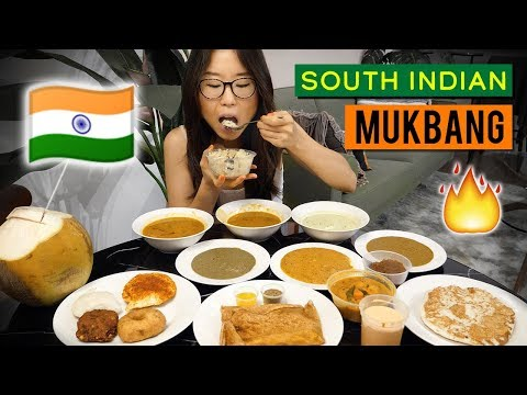 South Indian Food in Singapore ♦ MY LAST MUKBANG