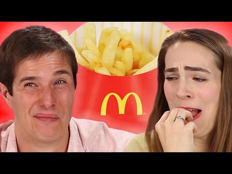French People Try American McDonald's French Fries For The First Time