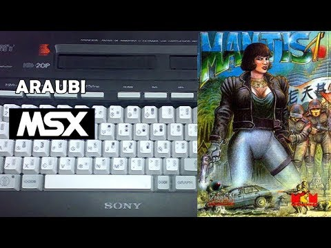 Mantis 1 (FX Software, 2016) MSX [729] Walkthrough