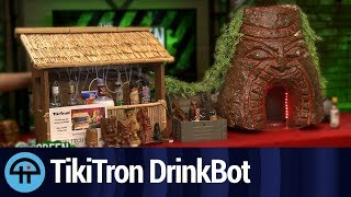 The TikiTron Drinkbot Live in Studio