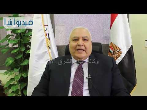 بالفيديو:رئيس الهيئة الوطنية للانتخابات يوجه كلمة للمصريين فى الخارج بمناسبة قرب الانتخابات الرئاسية