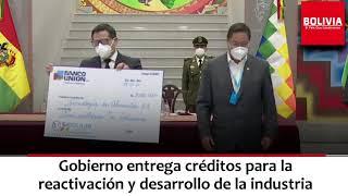 CRÉDITOS PARA INDUSTRIA ENTREGA ARCE