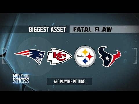 AFC Playoff Teams Biggest Asset & Fatal Flaw Entering the Divisional Round | Move the Sticks | NFL
