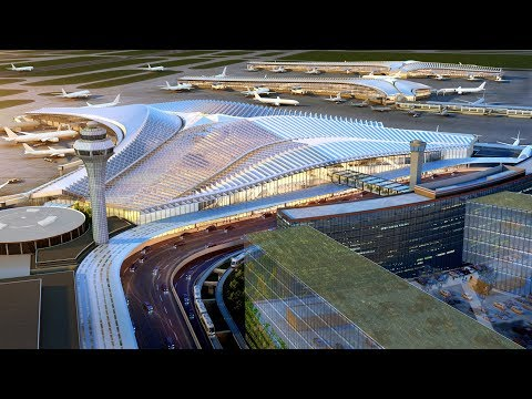 Studio Gang wins bid for new Chicago O'Hare airport terminal