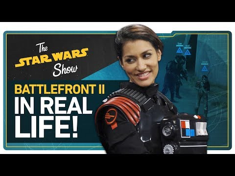 We Play Battlefront II in REAL LIFE, New Star Wars Trilogy & Live-Action TV Show Announced, & More!