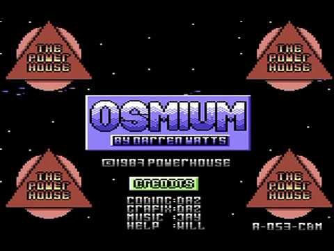 Commodore 64: Osmium game ending by The Power House