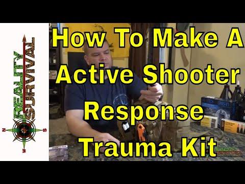 How To Build An Active Shooter Response Trauma Kit