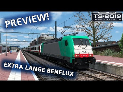 Train Simulator 2019: Extra Lange Benelux (PREVIEW Zuidwest Nederland)