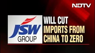 JSW Group To Stop Imports From China - NDTV