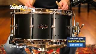 Craviotto 6.5x14 Solitaire Aluminum Snare Drum - Quick n' Dirty