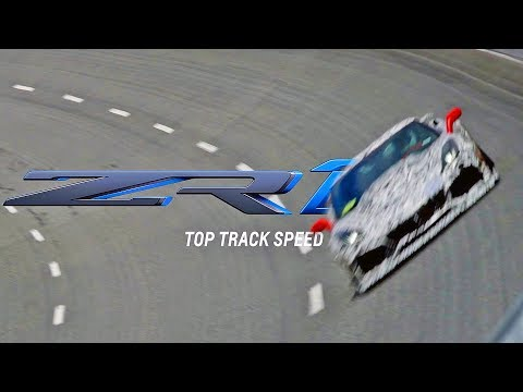 CORVETTE ZR1 (2019) Top-Speed Testing