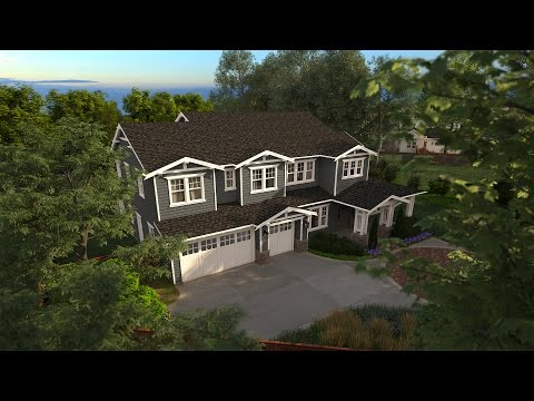 Mitchell Way, Danville, California - Virtual Tour Architectural Animation