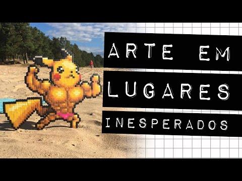 ARTE EM LUGARES INESPERADOS