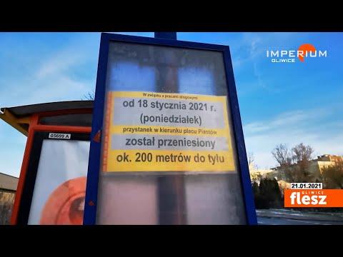 Flesz Gliwice / Teleport przystanku Gliwice - Świętojańska