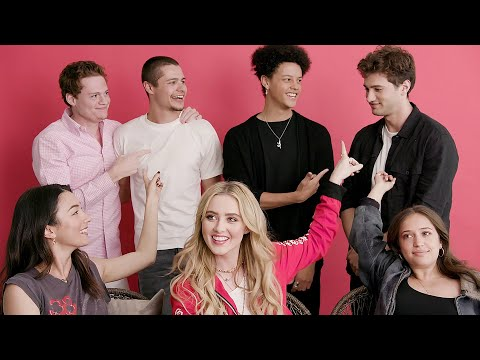 "The Cast Of ""The Society"" Plays Who's Who"