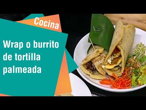 Wrap o burrito de tortilla palmeada | Cocina