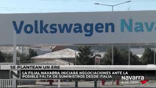 VW Navarra plantea un ERTE por posible falta de suministros