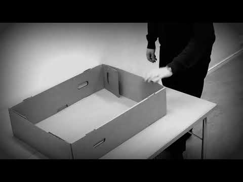V12 Quick box - watch how to fold the box.