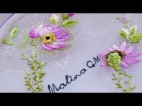Embroidery for dresses 👗 Вышивка для платья