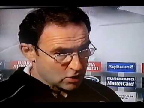 Wściekły Martin O'Neill po meczu Juventus - Celtic w 2001 roku