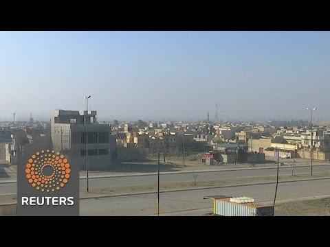 Heavy gunfire heard in eastern Mosul's Mithaq district