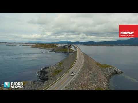 Sommer in Fjord Norwegen 2019