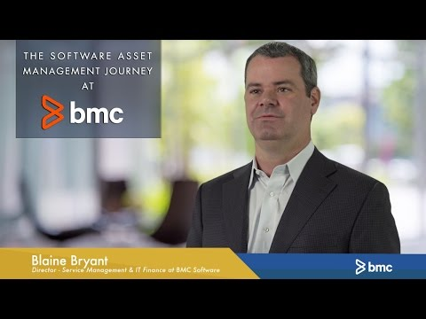 The Software Asset Management Journey at BMC Software