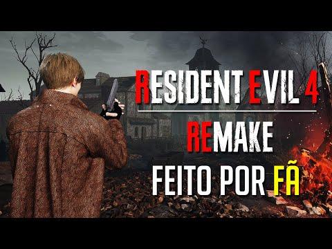 RESIDENT EVIL 4 REMAKE FEITO POR FÃ (REIMAGINAÇÃO DA VILA)
