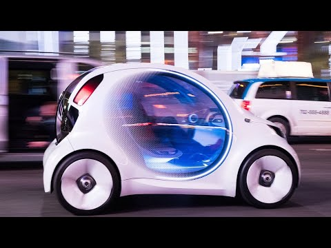connectYoutube - Mercedes-Benz Smart Vision EQ concept first ride