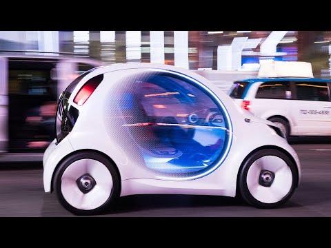 Mercedes-Benz self-driving concept first drive