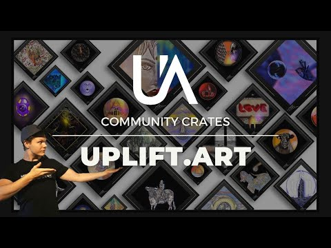NFT Community drop by uplift art, a blockchain based NFT