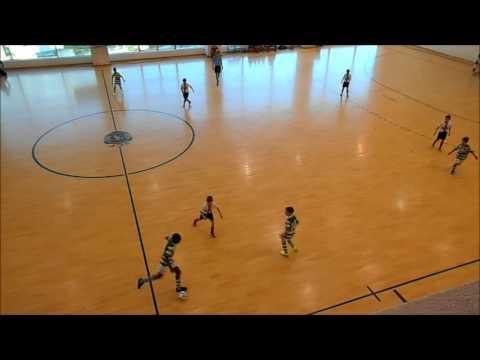 16/17 - Golos 7ª Jornada - Camp. Distrital - Sporting CP 14 x 2 Fonsecas e Calçada  - JUNIORES E