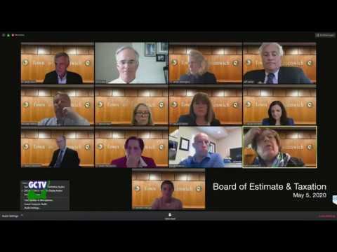 Board of Estimate & Taxation, May 5, 2020