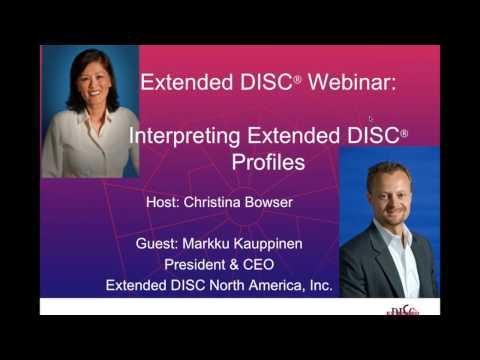 Interpreting DISC Profiles Webinar