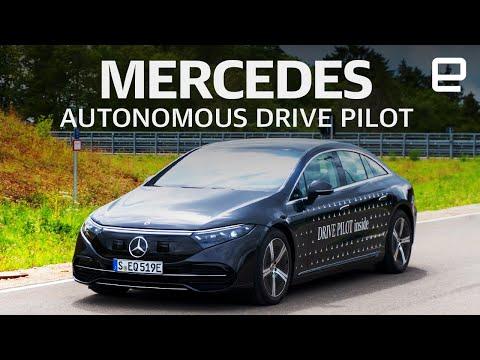 Mercedes level 3 Autonomous Drive Pilot Hands-on